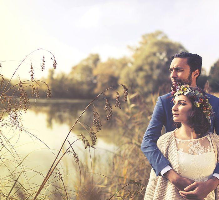 Mariage vintage à Troyes en automne