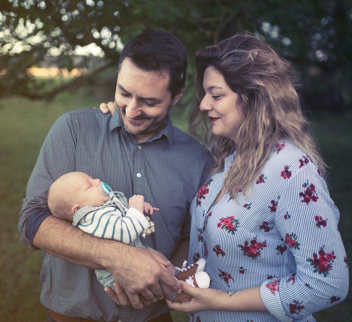 Reportage maternité avec Léon