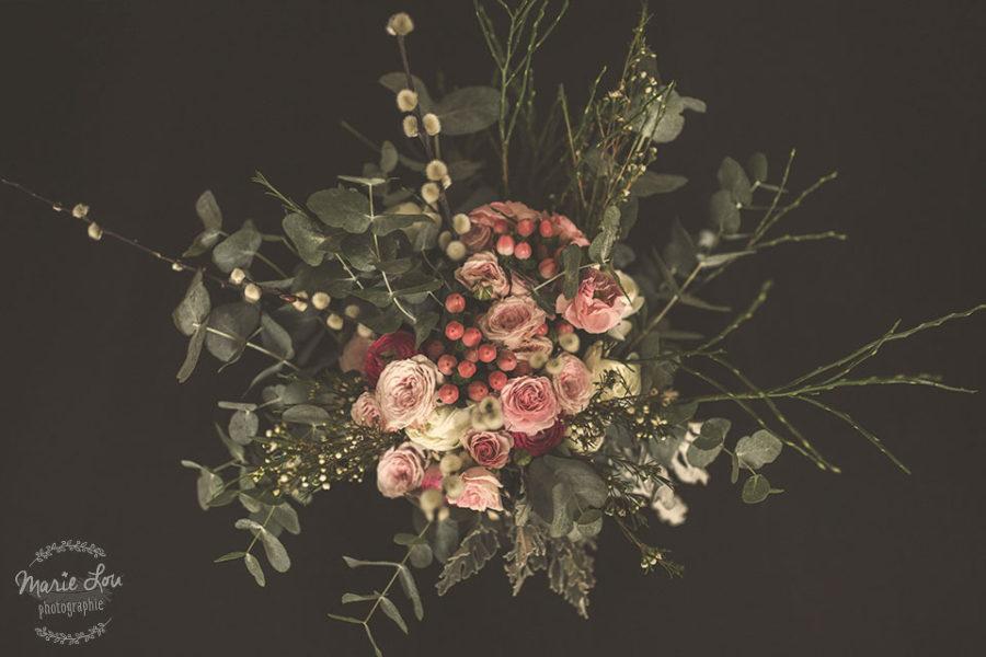 Shooting photos pour l'Atelier Seschaou et son bouquet mariage