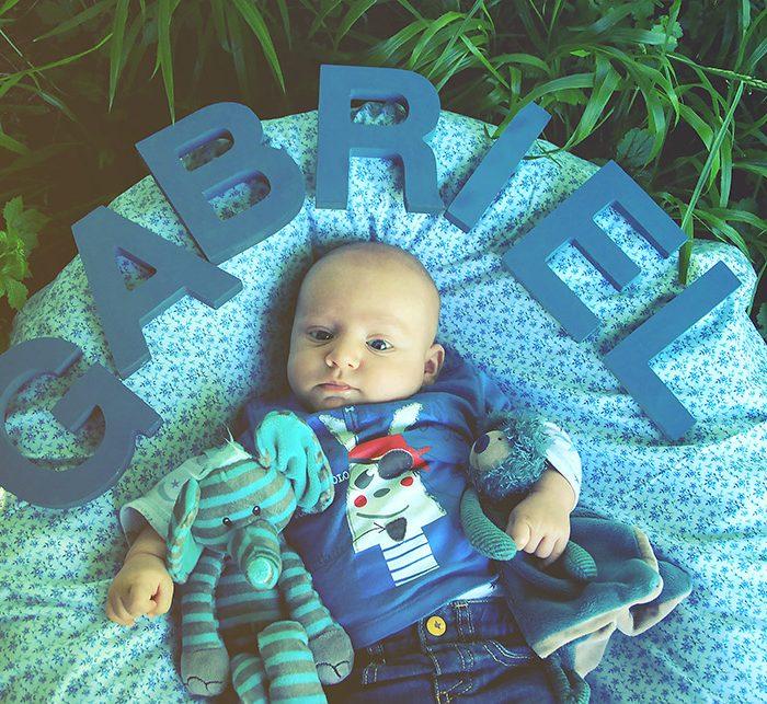 Fêtons la naissance de Gabriel!