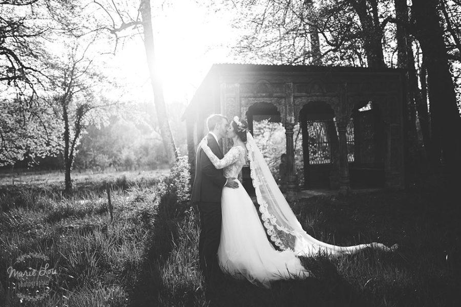 Mariage au printemps dans un village de Champagne
